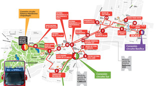 Carte de bus touristique et hop on hop off bus tour de Turibus
